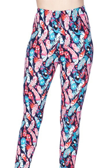 Picture of Feather Fun High Waist Leggings
