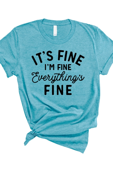 Picture of Everything's Fine Graphic Tee