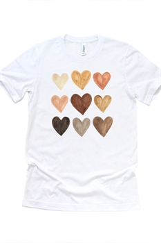 Picture of Love In Every Color Graphic Tee