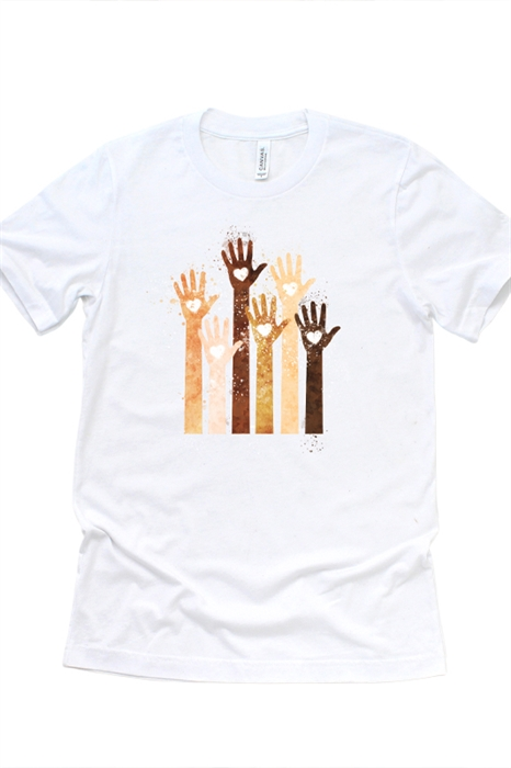 Picture of Hearts and Hands Graphic Tee