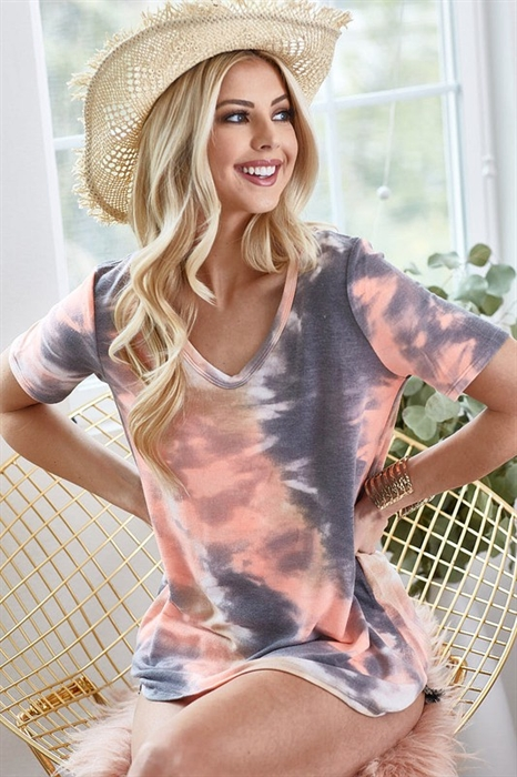 Picture of Tie Dye French Terry Top 🇺🇸