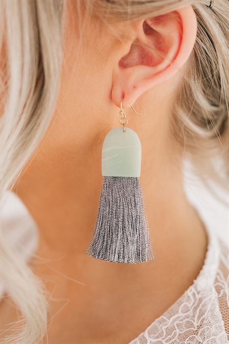 Picture of Julietta Tassel Drop Earrings