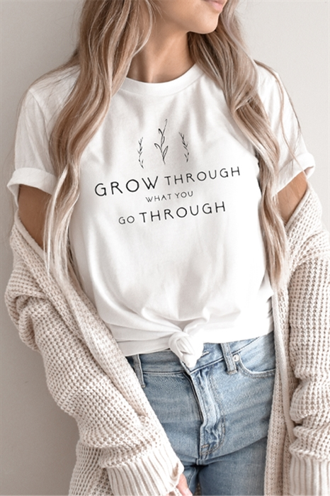 Picture of Grow Through Graphic Tee