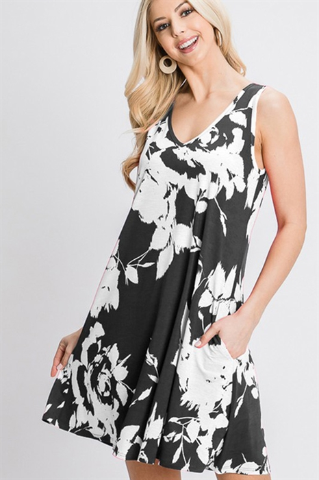 Picture of Malina Floral Dress