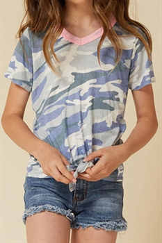 Picture of Youth Camo Top